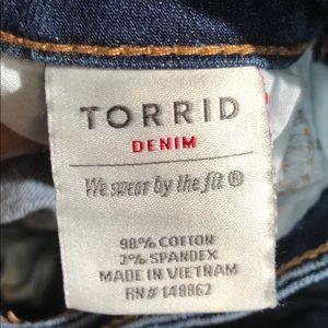 torrid Jeans - Torrid Flare style jeans EUC size 16